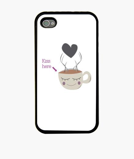 Funda iPhone Kiss here
