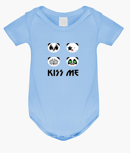 Kiss me panda children's clothes