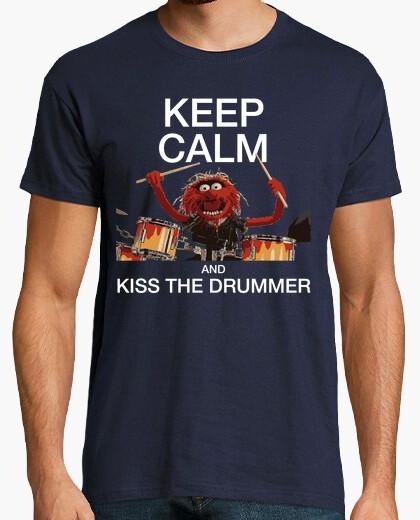 Kiss the drummer t-shirt