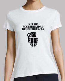 Kit Accesibilidad Camiseta manga corta mujer