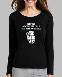 Kit Accesibilidad Camiseta manga larga mujer