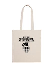 kit d'accessibilité pour sac en tissu