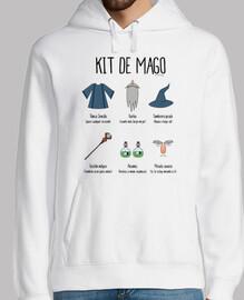 Kit de Mago - Sudadera chico
