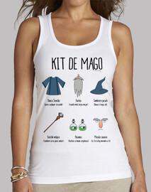 Kit de Mago - Tirantes ajustada