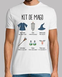 kit wizard - t-shirt da uomo