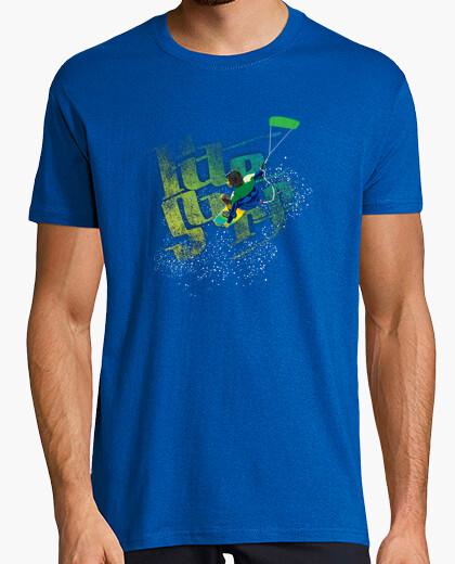 T-Shirt kite-surf-junge