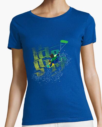 Camiseta Kite Surf chica