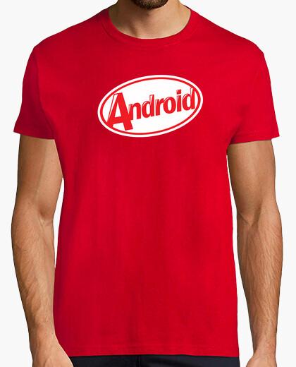 Tee-shirt kitkat android