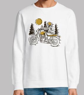 klassischer Biker