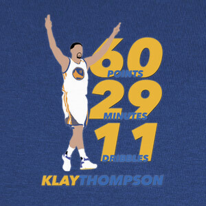Camisetas Klay Thompson 60 puntos
