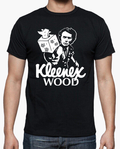Kleenex wood t-shirt