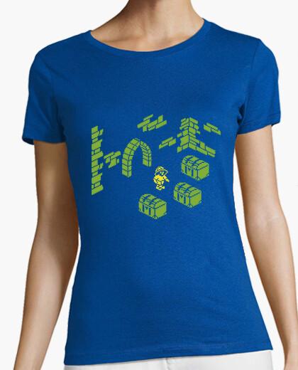 Tee-shirt Knight Lore treasure addict