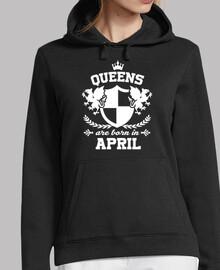 Königinnen werden im April geboren