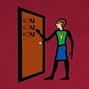 knock knock penny T-shirts