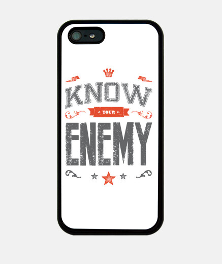 KNOW YOUR ENEMY iphone 5
