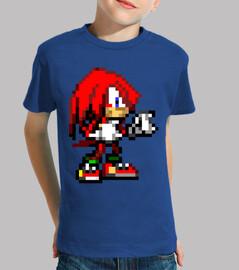 Knuckles 16bit (Camiseta Niño)