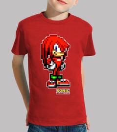 Knuckles Sonic Advance Camiseta infantil