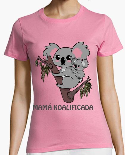 T-shirt koala - mamma koalificada