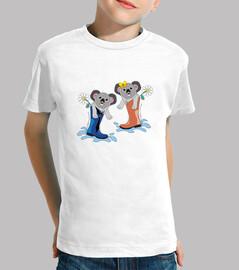 koala con botines