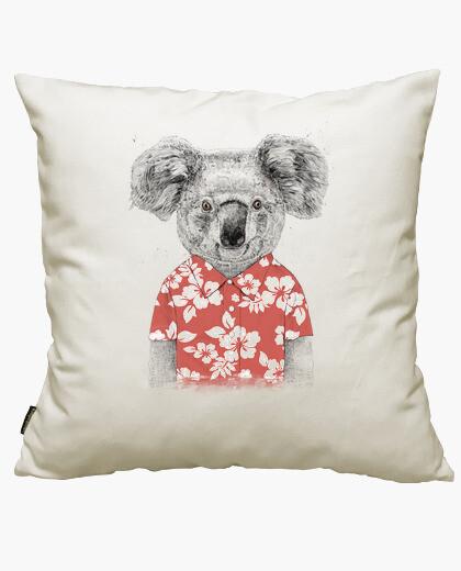 Housse de coussin koala d'été