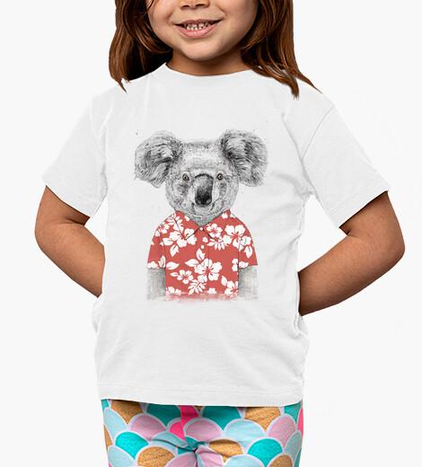 Vêtements enfant koala d'été