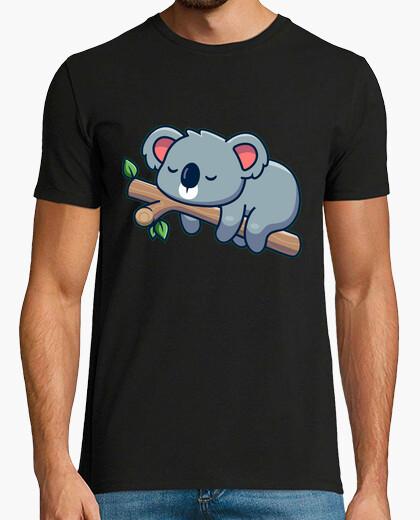 Camiseta koala en una rama