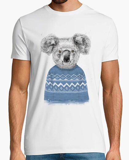 T-shirt koala invernale