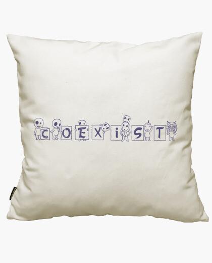 Funda cojín kodamas coexist