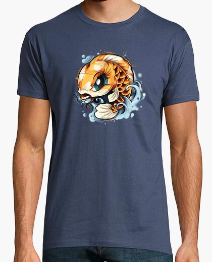 Camiseta Koi chibi
