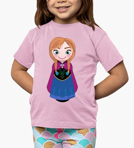 Ropa infantil Kokeshi Anna de Frozen