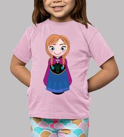 Kokeshi Anna de Frozen