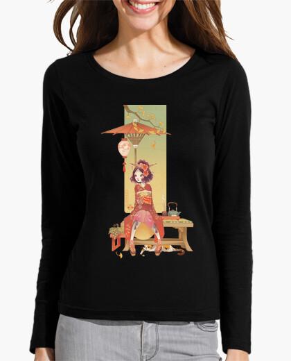 Kokeshi autumn t-shirt