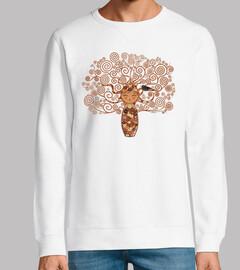 Kokeshi El árbol de la vida estilo Klimt