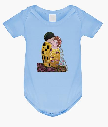 Ropa infantil Kokeshi El Beso estilo Klimt
