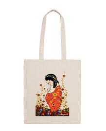 Kokeshi fabric shoulder pregnant