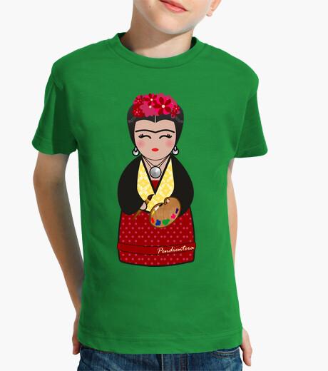 Ropa infantil Kokeshi Frida Kahlo III