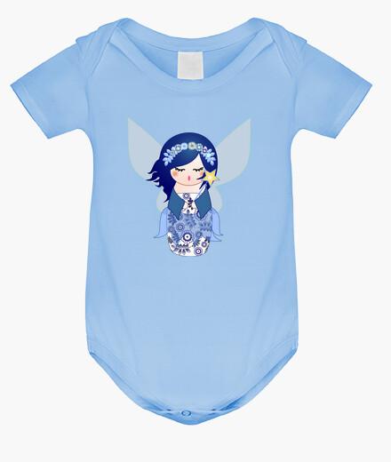 Ropa infantil Kokeshi Hada Azul