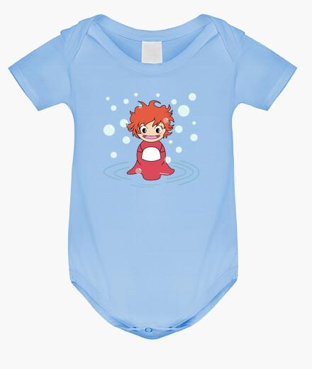 Kokeshi i ponyo children's clothes