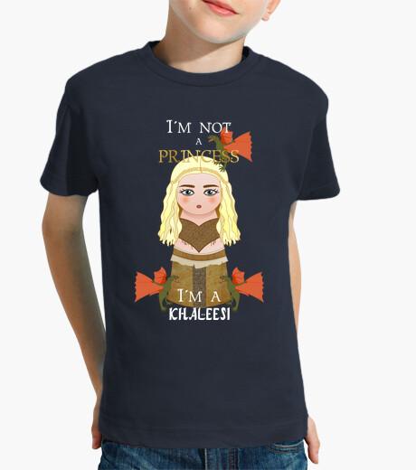 Ropa infantil Kokeshi I´m not a princess (Daenerys)