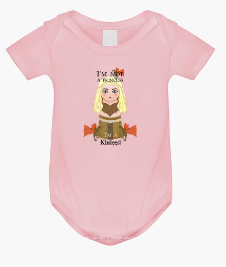 Ropa infantil Kokeshi Khaleesi (Daenerys Targaryen)