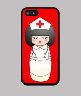 kokeshi krankenschwester