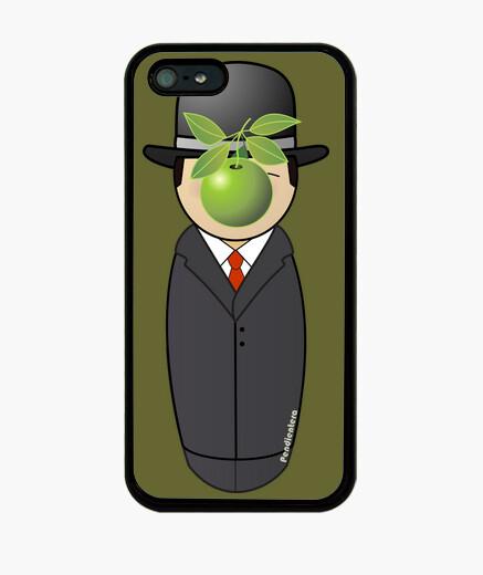 Funda iPhone Kokeshi Magritte