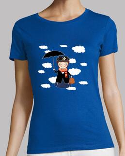 Kokeshi Mary Poppins