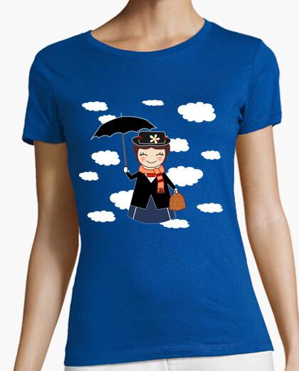 Camiseta Kokeshi Mary Poppins