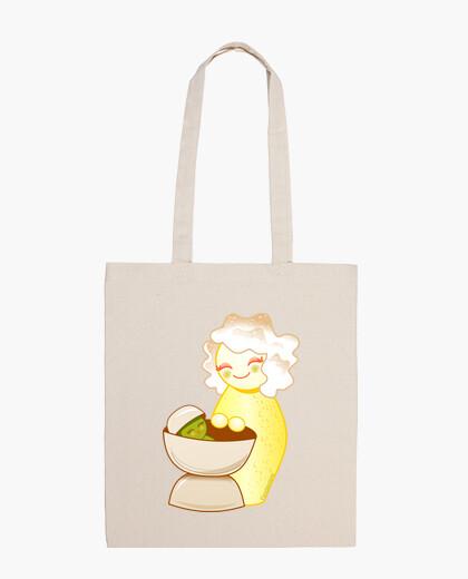 Sac kokeshi mère douce et pistachito