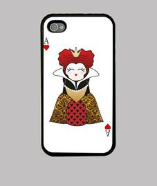 kokeshi regina di cuori