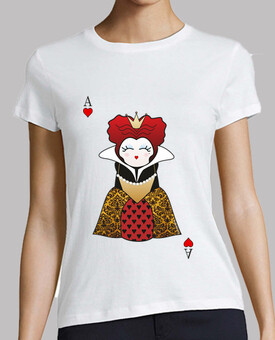 kokeshi shirt queen of hearts