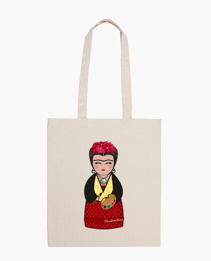 Kokeshi shoulder iii frida kahlo bag