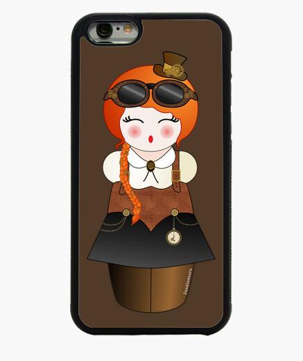 Coque Iphone 6 / 6S kokeshi steam punk