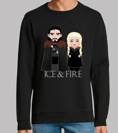 Kokeshis Aegon and Daenerys Targaryen